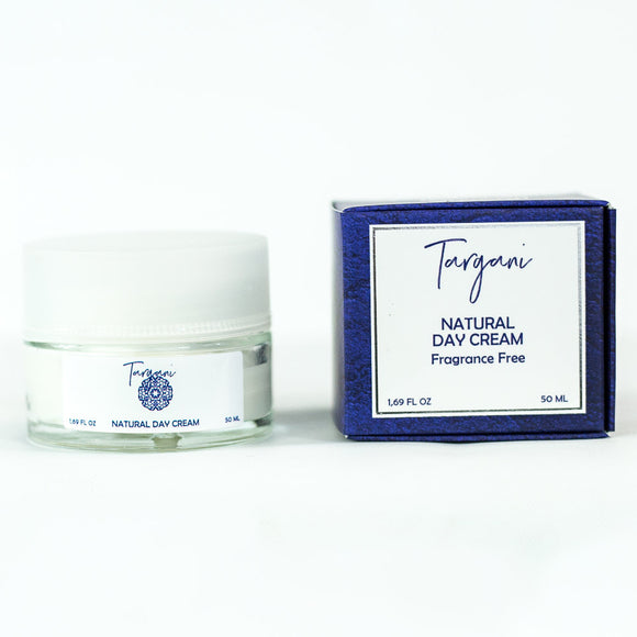 Targani Natural Day Cream - Fragrance Free 1.69fl Oz