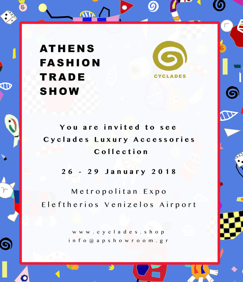 Come and meet Cyclades at Athens Fashion Trade Show