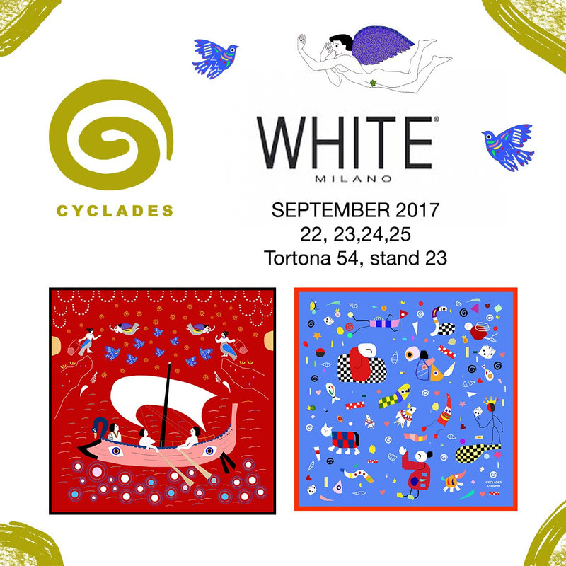 CYCLADES GOES TO WHITE & MILAN FASHION WEEK