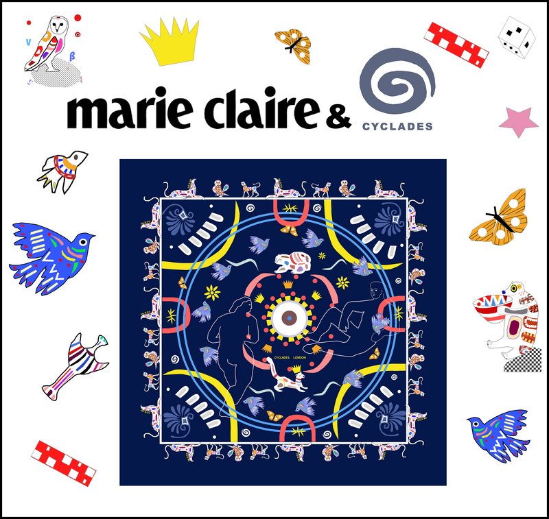 Win a Cyclades scarf!  Marie Claire UK & Cyclades contest
