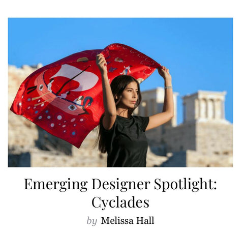 Cyclades Leto Lama The emerging designer
