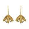 Gold Flower Artemis Earrings