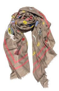 Silk Scarf Cyclades