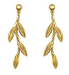 Olive Tree Gold Earrings