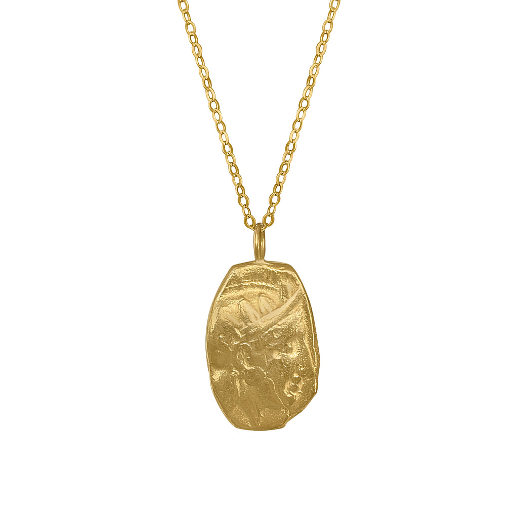 Athena Owl Necklace Pendant