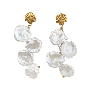 Venus Baroque Pearl Earrings