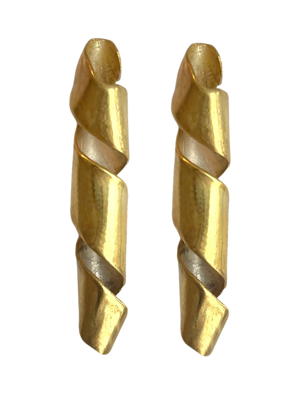 Theseus Earrings 24K gold plating over 925 Recycled Silver, Made to order- 14 days lead time