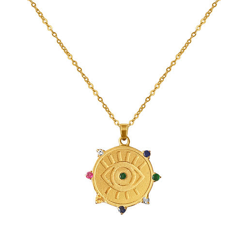 Gorgeous Evil Eye Pendant Necklace