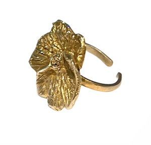 Ariadne Adjustable Flower Ring (10 days lead time)