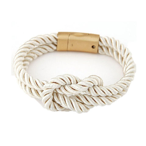 Braided Rope Chain with Magnetic Clasp Unisex (6 variants)