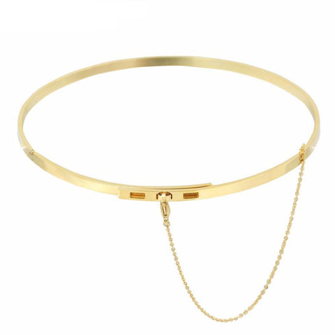 Lock Choker Necklace