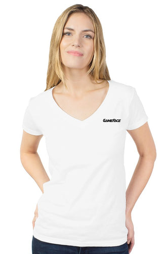 womens tultex v neck