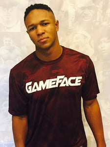 GF Youth HexCamo T-Shirt (Maroon)