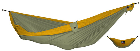 Hamac Ticket to the Moon single Khaki/Dark Yellow