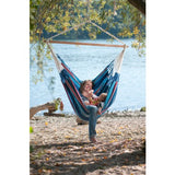 Scaun suspendat lounger La Siesta Currambera Blueberry