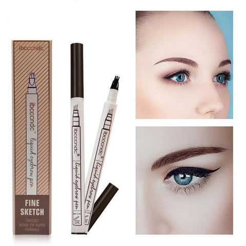 Platinum Skin Liquid Eyebrow Tattoo Micro-blading Pen - Guam Shopping Network