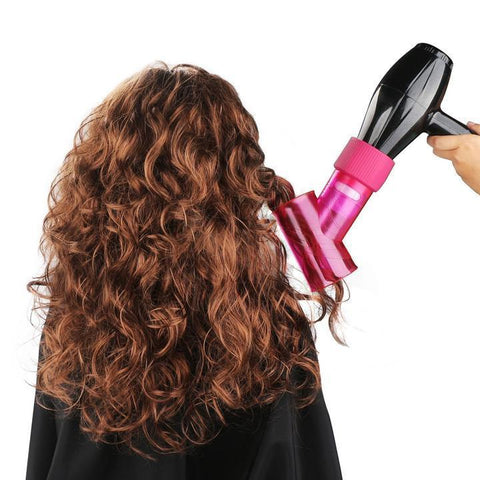 Wind Spin Hair Curler Dryer
