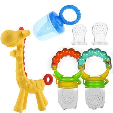 Baby Fruit Feeder Mesh Pacifier Set - Guam Shopping Network