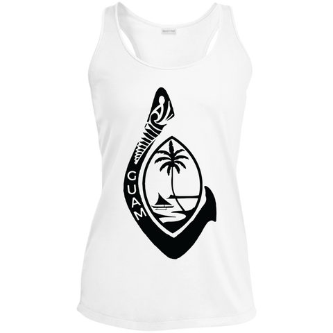 Guam Sport-Tek Ladies' Racerback Moisture Wicking Tank - Guam Shopping Network
