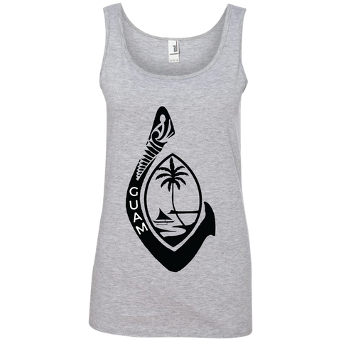 Guam Ladies' 100% Ringspun Cotton Tank Top - Guam Shopping Network