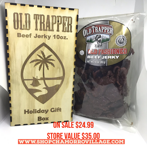 Old Trapper 10oz. Gift Box - Guam Shopping Network