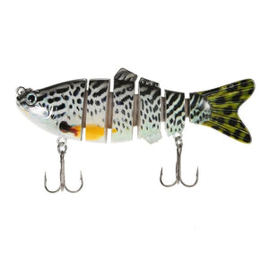 Fishing Lure With 6 Jointed Sections Hooks - Guam Shopping Network