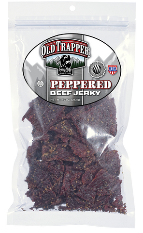 Traditional Style Jerky - Peppered 10oz bag - Guam Shopping Network