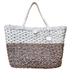Abaca Large Weave Tote - Brown - Guam Shopping Network