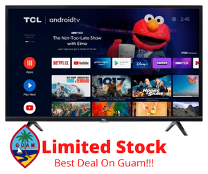 Guam TCL 39 in HDTV Android TV  with (FREE LED Back Lights)