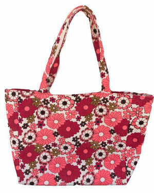 Floral Fashion Tote - Guam Shopping Network