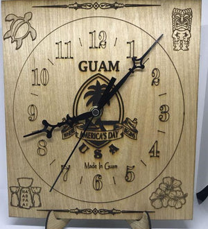 Guam Clock (Made In Guam)