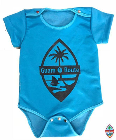Guam Route One Infant Layette Light Blue - Guam Shopping Network