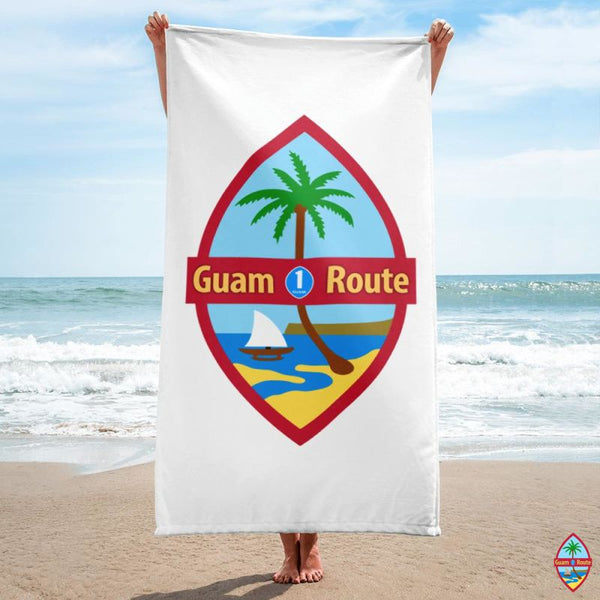 Guam Route One Towel Beach