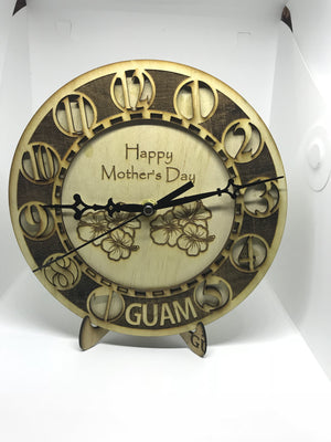 For Mother's Day Guam Clock (Made In Guam) - Guam Shopping Network