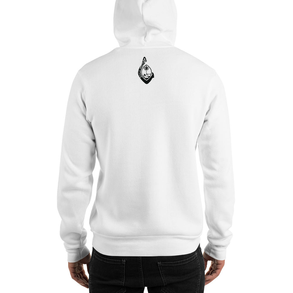 Mens Guam Fashion Hooded Sweatshirt