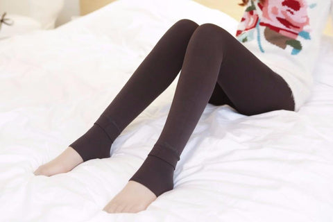 Hot New Fashion Women's Winter Warm High-Quality Thick Elasticity Velvet Leggings - Guam Shopping Network
