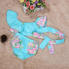 Baby Girls Newborn Floral Bow knot Swimwear - Guam Shopping Network