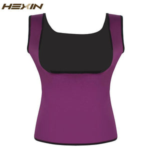 HEXIN Plus Size Neoprene Hot Body Slimming Vest Corset - Guam Shopping Network