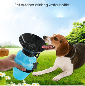 Portable Pet Water and Feed Bottle - Great for on The Go! - Guam Shopping Network