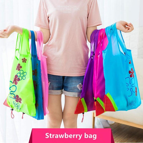 Hot Creative environmental Foldable storage Handbag - Guam Shopping Network