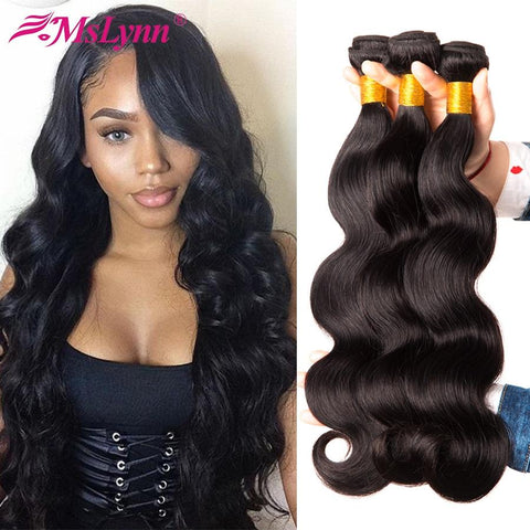 Body Wave Brazilian Hair 100% Human Hair  4 or 3 Bundles Available - Guam Shopping Network