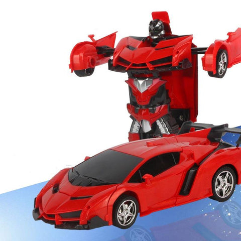 Remote Robot Control Car Transformation Toy Gift - Guam Shopping Network