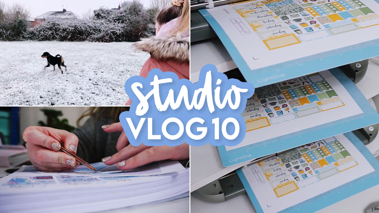 STUDIO VLOG #10 | Boxing Day Orders & Mystery Kit Release | Plannerface