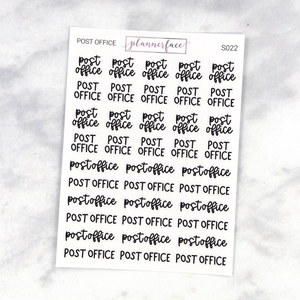 Post Office | Scripts