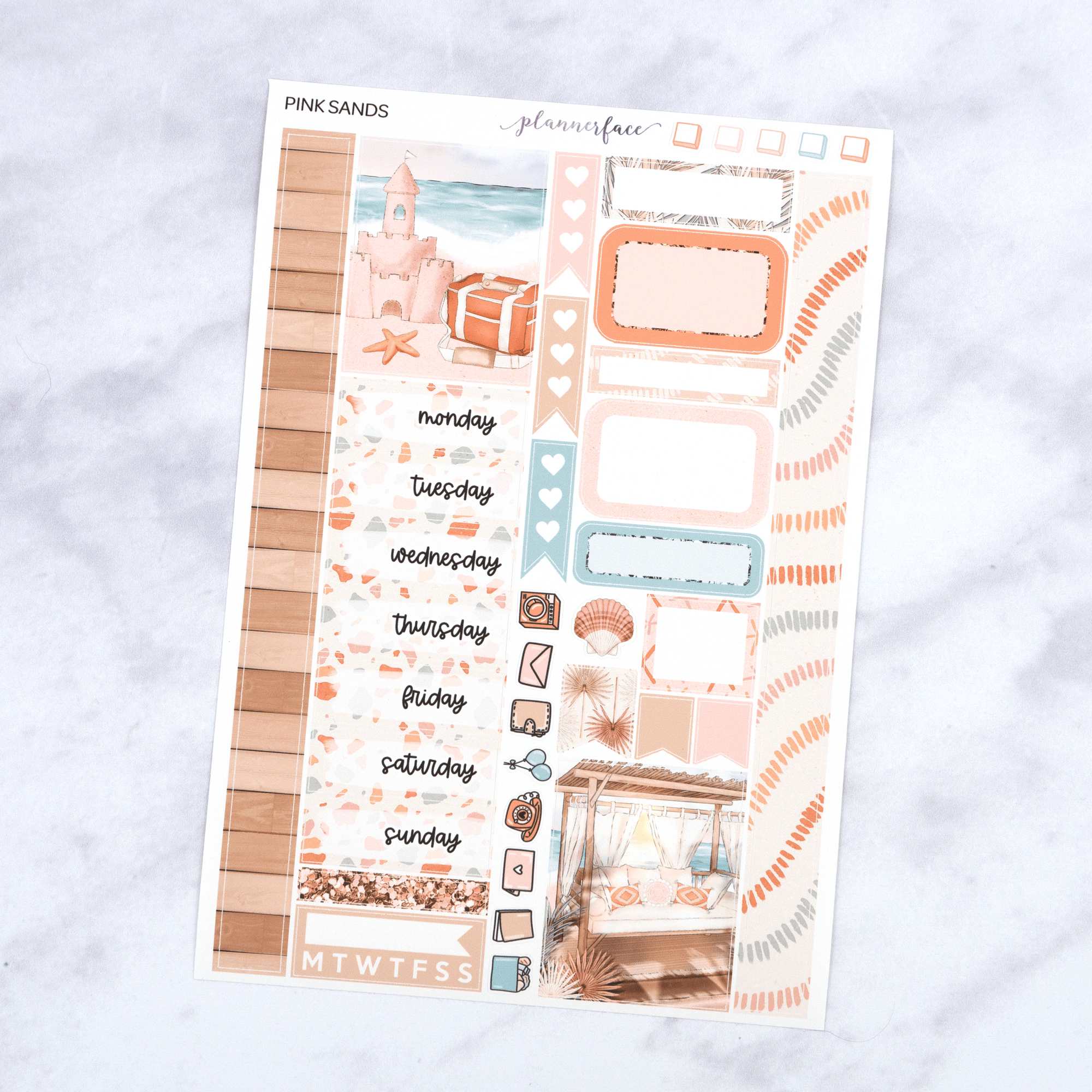 Pink Sands | One Page Kit