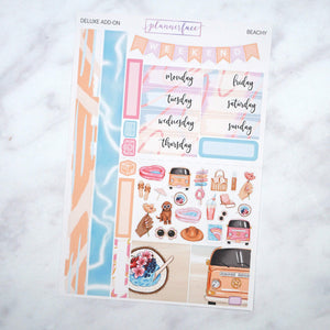 Plannerface Beachy Mini Kit Planner Stickers