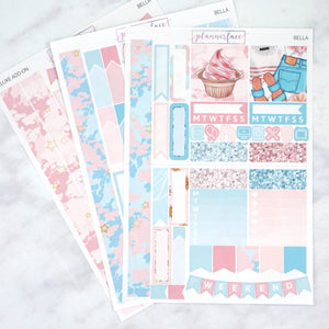 Plannerface Bella Mini Kit Planner Stickers