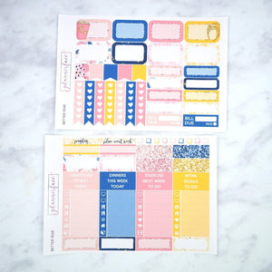 Plannerface Better Year Weekly Kit Planner Stickers