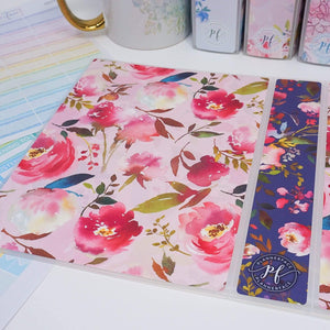 Plannerface Bloom Sticker Album (Large) Planner Stickers