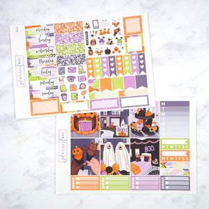 Plannerface Boo! Mini Kit Planner Stickers